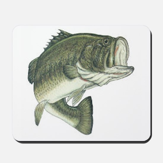 Large Mouth Bass Mousepad