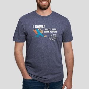 Funny I Bowl Women's Dark T-Shirt