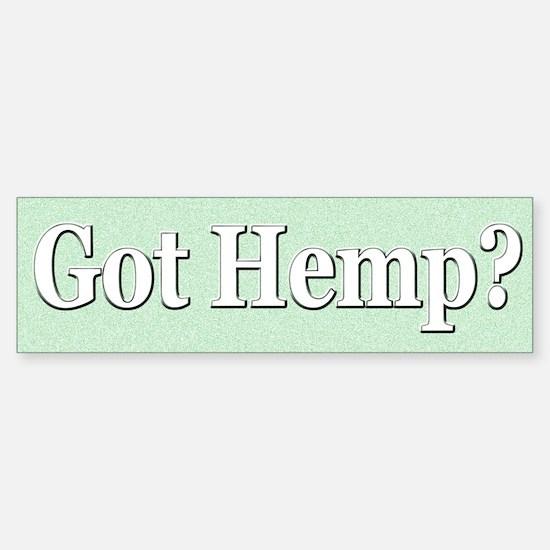 Got Hemp?