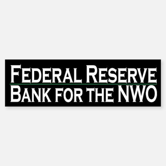 Federal Reserve - NWO bank