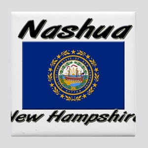 Nashua New Hampshire Tile Coaster