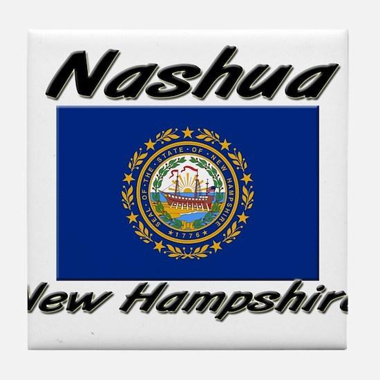 Nashua New Hampshire Tile Coaster