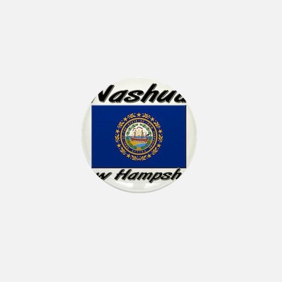 Nashua New Hampshire Mini Button