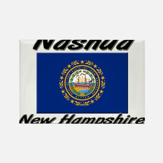 Nashua New Hampshire Rectangle Magnet