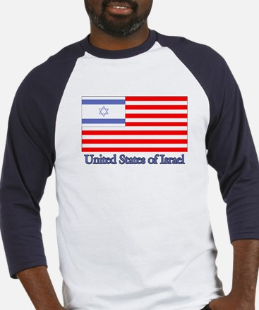 United States of Israel Baseball Jersey