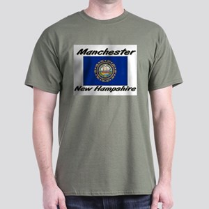 Manchester New Hampshire Dark T-Shirt