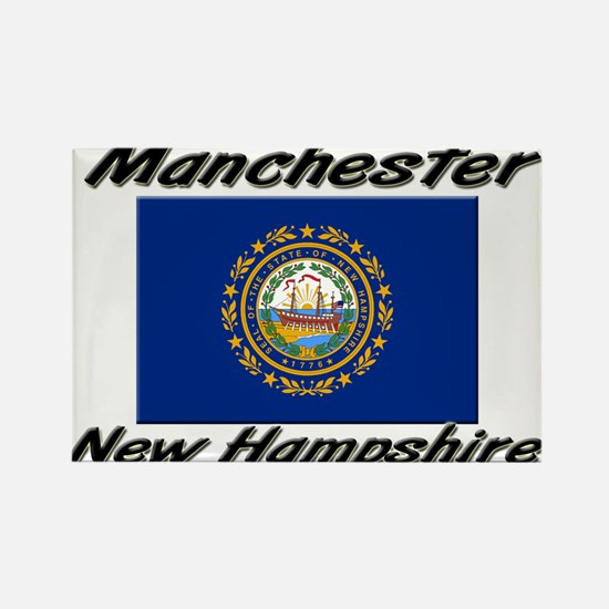 Manchester New Hampshire Rectangle Magnet