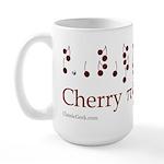Cherry Pi Large Mug