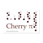 Cherry Pi Mini Poster Print
