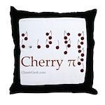 Cherry Pi Throw Pillow