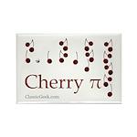 Cherry Pi Rectangle Magnet