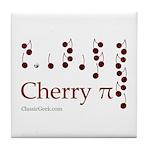 Cherry Pi Tile Coaster