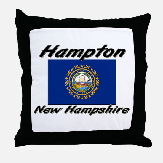 Hampton New Hampshire Throw Pillow