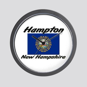 Hampton New Hampshire Wall Clock