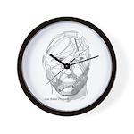 Joe's Head Wall Clock