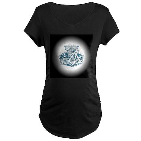 Victoria Lodge Maternity Dark T-Shirt