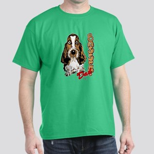 Basset dad Dark T-Shirt