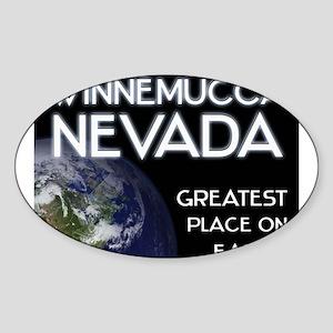 winnemucca nevada - greatest place on earth Sticke