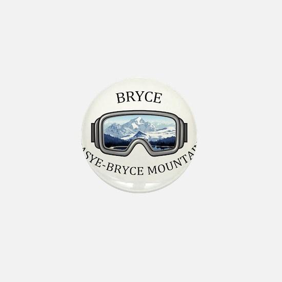 Bryce Resort - Basye-Bryce Mountain Mini Button