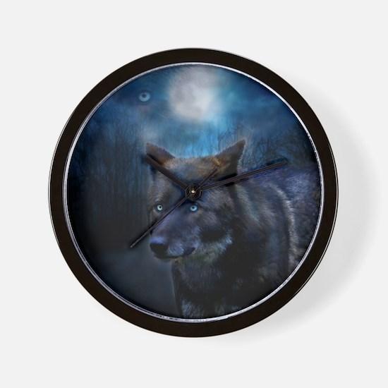 Unique Wild dog Wall Clock