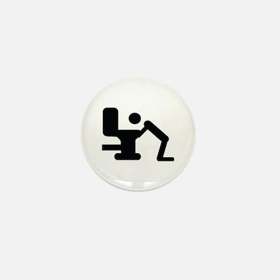 hang over icon Mini Button