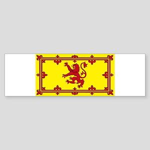 Scotland Scottish Blank Flag Bumper Sticker
