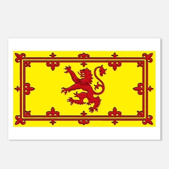 Scotland Scottish Blank Flag Postcards (Package of