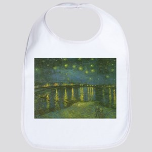 Van Gogh Starry Night Over the Rhone Bib