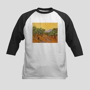 Van Gogh Olive Trees Yellow Sky And Sun Kids Baseb