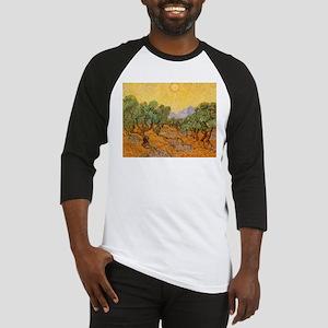 Van Gogh Olive Trees Yellow Sky And Sun Baseball J