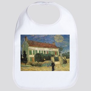 Van Gogh White House at Night Bib