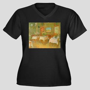 Van Gogh Interior of a Restaurant Women's Plus Siz