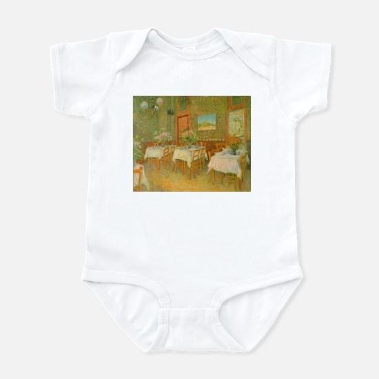 Van Gogh Interior of a Restaurant Infant Bodysuit