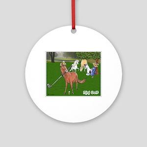 Mini Golf Ornament (Round)