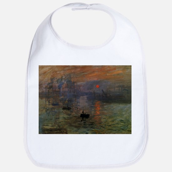 Impression, Sunrise by Claude Monet Bib