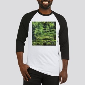White Water Lilies by Claude Monet Baseball Jersey