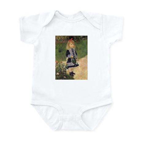 Renoir Girl w Watering Can Infant Bodysuit