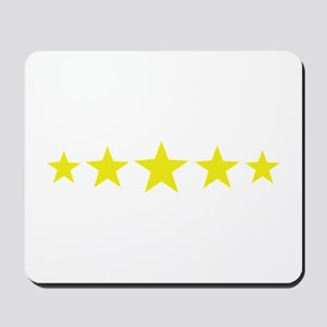 5 star deluxe five Mousepad