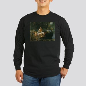 Lady of Shalott by JW Waterhouse Long Sleeve Dark
