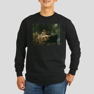 Lady of Shalott by JW Waterhouse Long Sleeve Dark