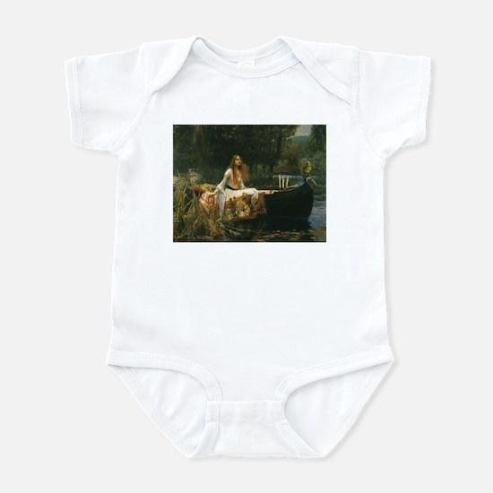 Lady of Shalott by JW Waterhouse Infant Bodysuit