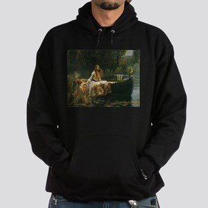 Lady of Shalott by JW Waterhouse Hoodie (dark)