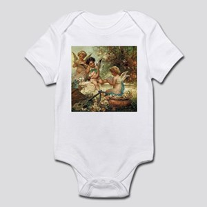Victorian Angels by Zatzka Infant Bodysuit