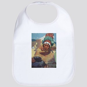 Taos Native American Indian Bib