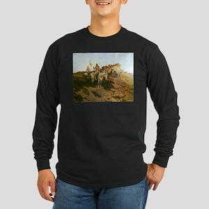 Prowlers of the Prairie Long Sleeve Dark T-Shirt