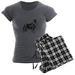 Collie Women's Charcoal Pajamas