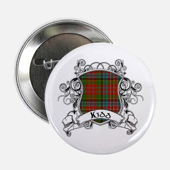 "Kidd Tartan Shield 2.25"" Button"
