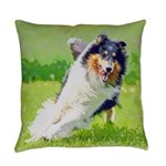 Collie Everyday Pillow
