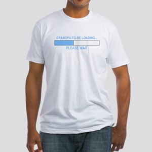 GRANDPA-TO-BE LOADING... Fitted T-Shirt