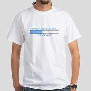 GRANDPA-TO-BE LOADING... White T-Shirt